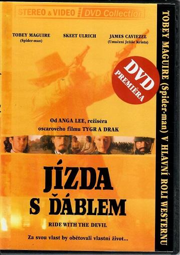 Jízda s ďáblem ( slim ) - DVD