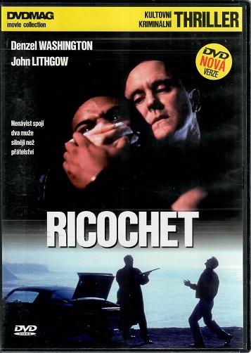 Ricochet: Odražená střela ( plast ) - DVD