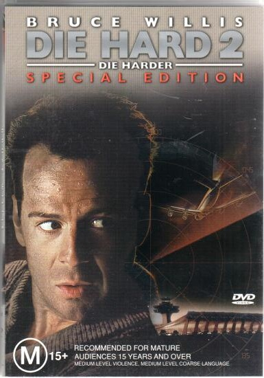 Die Hard 2 ( Smrtonosná past 2 ) -  2 DVD plast