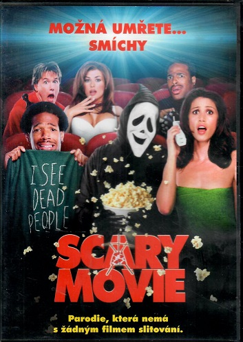 Scary Movie - DVD plast
