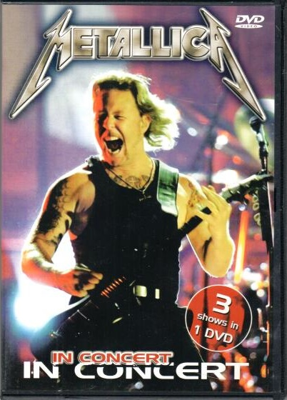 Metallica - In concert - DVD plast
