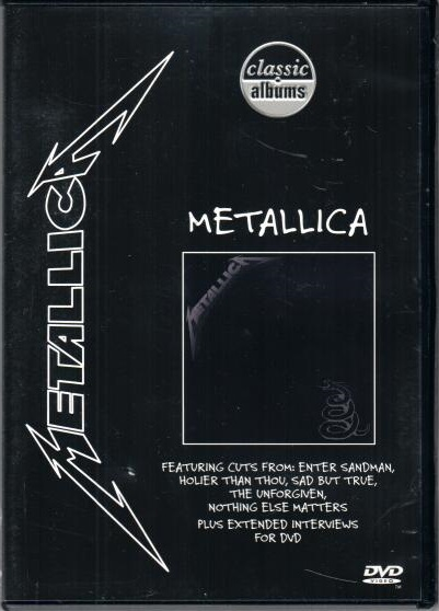 Metallica - Classic albums - DVD plast
