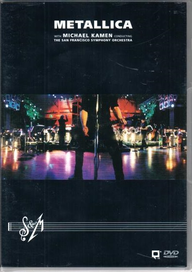 Metallica: S&M with the San Francisco Symphony 2DVD - plast