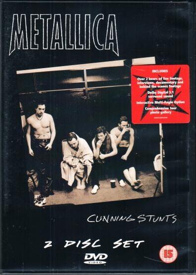 Metallica - Cunning stunts - DVD plast