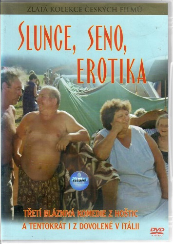 Slunce, seno, erotika ( plast ) - DVD