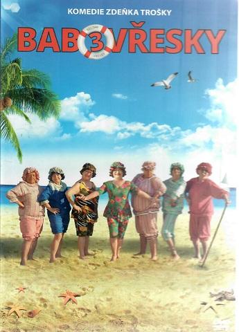 Babovřesky 3 - DVD plast