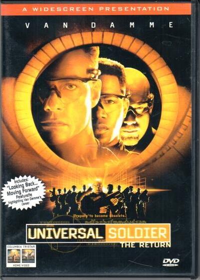 Universal soldier: The return ( Univerzální voják - zpět v akci ) - DVD plast