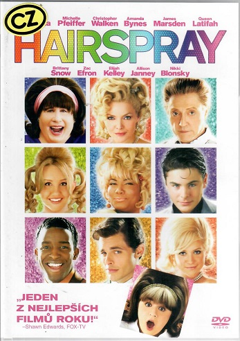 Hairspray ( plast ) - DVD