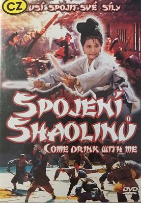 Spojení Shaolinů/plast/-DVD