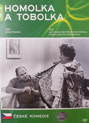 Homolka a tobolka/plast/-DVD