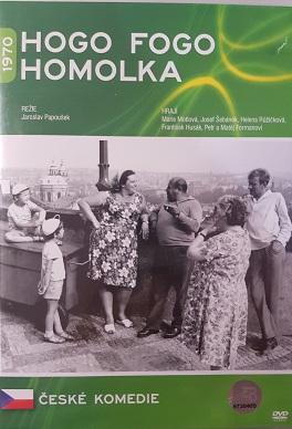 Hogo fogo Homolka/plast/-DVD