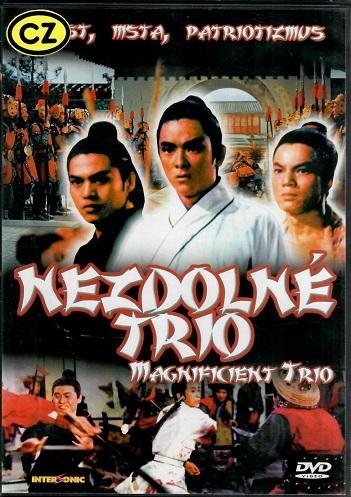 Nezdolné trio ( plast ) - DVD