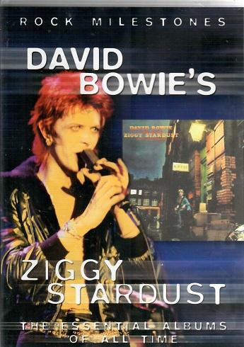 Rock Milestones - David Bowie´s Ziggy stardust ( plast ) - DVD