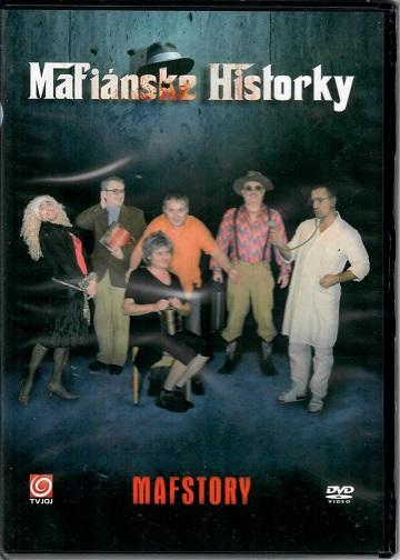 Mafiánské Historky (divadelní záznam) - Plast DVD