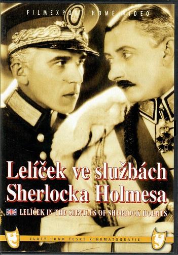 Lelíček ve službách Sherlocka Holmesa ( plast ) - DVD
