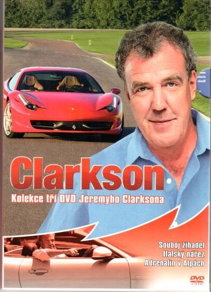 Clarkson - kolekce 3 DVD