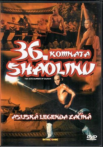 36. komnata shaolinu ( plast ) - DVD