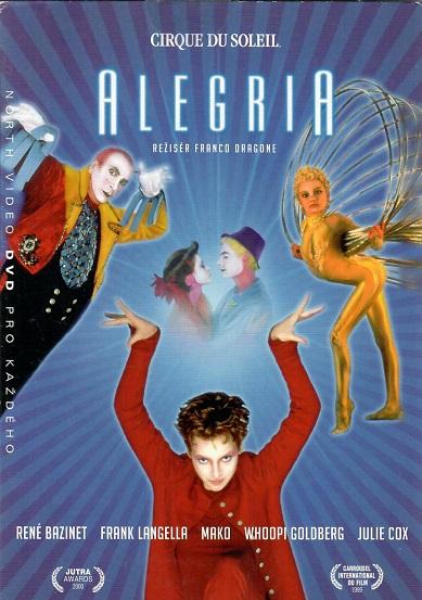 Cirque du Soleil: Alegria ( pošetka ) - DVD