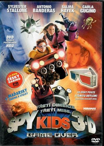 Spy kids 3: Game over ( plast ) - DVD
