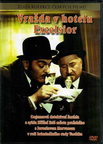 Vražda v hotelu Excelsior ( slim ) - DVD