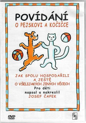 Povídání o pejskovi a kočičce ( plast ) - DVD