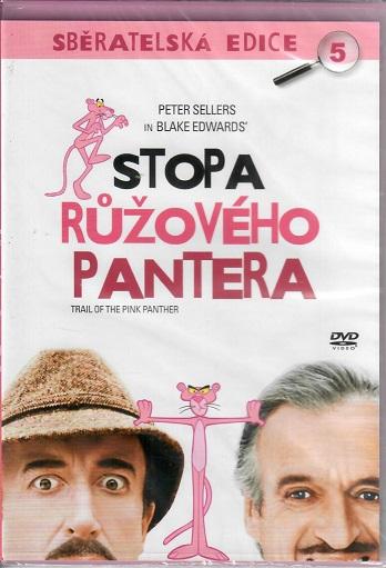 Stopa Růžového pantera ( slim ) - DVD
