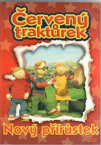 Červený traktůrek - Nový přírůstek ( plast ) - DVD