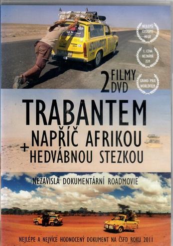 2 Filmy Trabantem napříč Afrikou + Hedvábnou stezkou ( plast ) - DVD