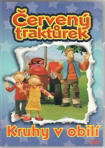 Červený traktůrek - Kruhy v obilý ( plast ) - DVD