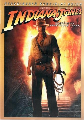 Indiana Jones a království křišťálové lebky 2DVD