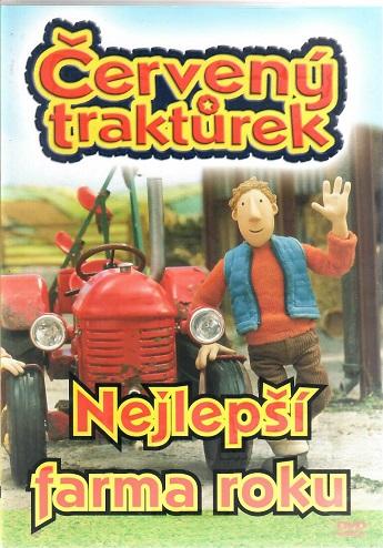 Červený traktůrek - Nejlepší farma roku ( plast ) - DVD