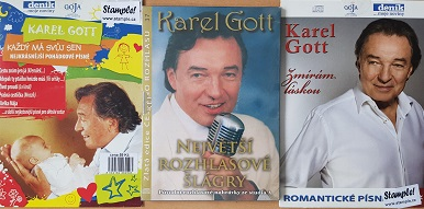 Kolekce Karel Gott-3 CD