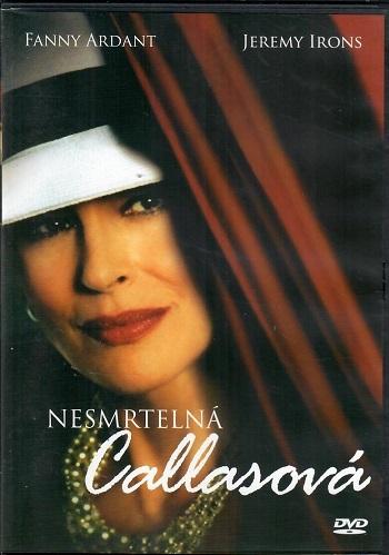 Nesmrtelná Callasová ( originální znění s CZ titulky )  plast DVD