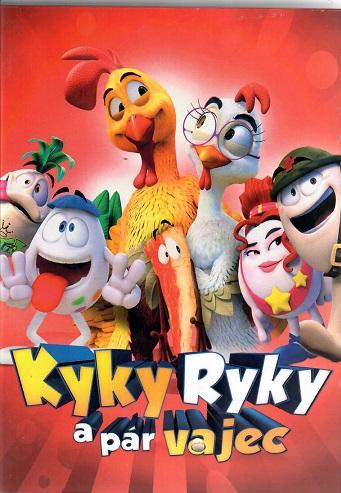 Kyky Ryky a pár vajec ( slim ) - DVD