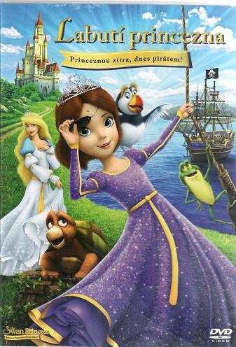 Labutí princezna: Princeznou zítra, dnes pirátem! ( plast ) - DVD