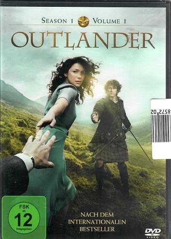 Outlander / Cizinka season 1, volume 1 ( originální znění ) DVD