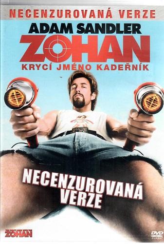 Zohan: krycí jméno kadeřník ( plast ) - DVD