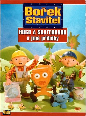 Bořek stavitel - Hugo a skatebord a jiné příběhy ( bazarové zboží ) digipack DVD