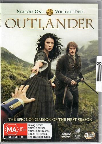 Outlander / Cizinka season 1, volume 2 ( originální znění ) DVD