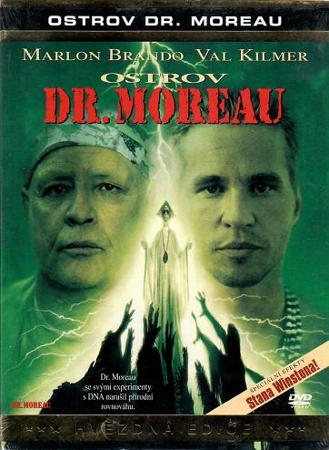 Ostrov Dr.Moreaua ( digipack ) - DVD
