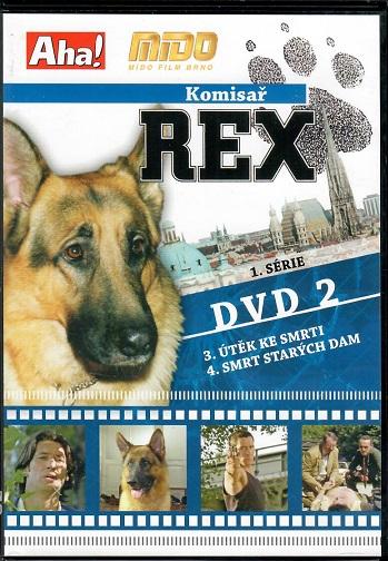 Komisař Rex 1. série DVD 2 ( slim ) - DVD
