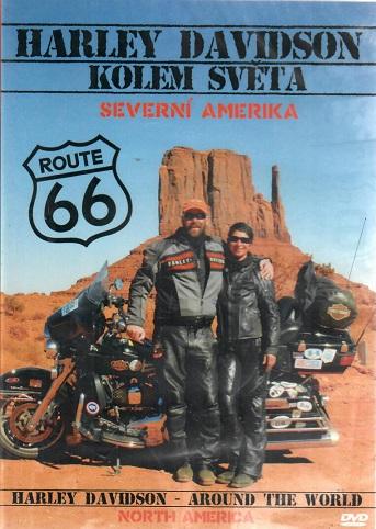 Harley Davidson - Severní Amerika ( plast ) - DVD