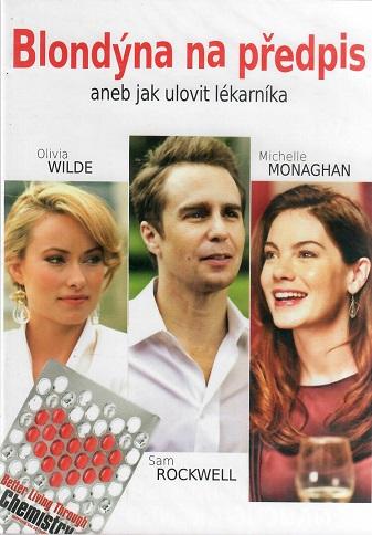 Blondýna na předpis ( slim ) - DVD