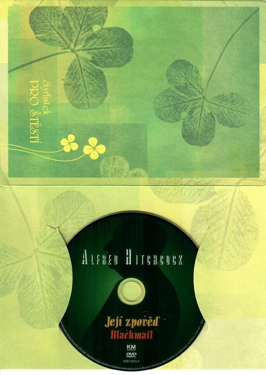 Její zpověď - Alfred Hitchcock ( dárkový papír obal ) originální znění DVD