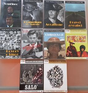 Kolekce Pier Paolo Pasolini - 10x DVD