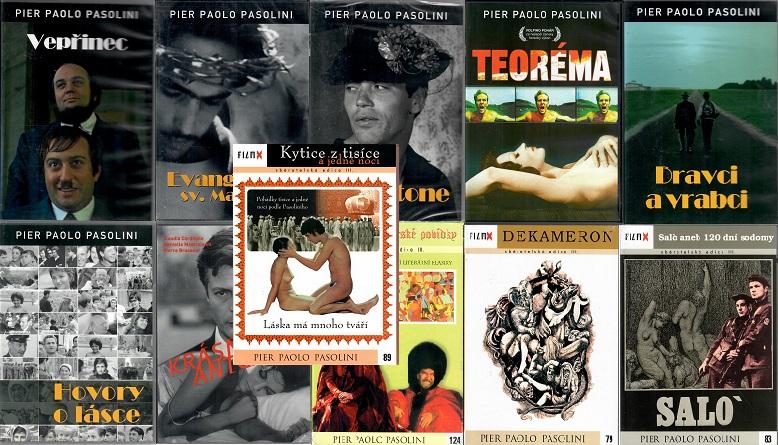 Kolekce Pier Paolo Pasolini - 11x DVD