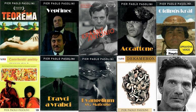 Kolekce Pier Paolo Pasolini - 9x DVD