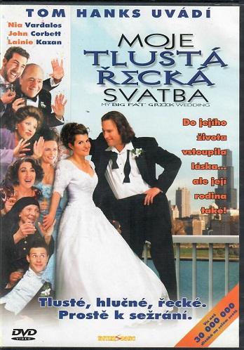 Moje tlustá řecká svatba ( slim ) - DVD
