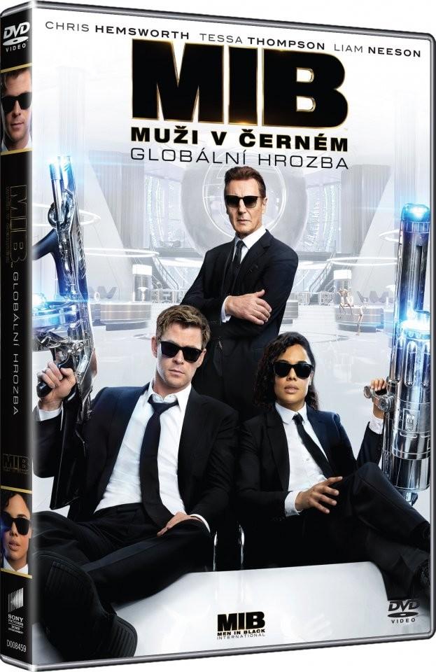 Muži v černém: Globální hrozba - DVD plast