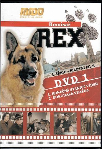 Komisař Rex 1. série DVD1 + pilotní film ( slim ) - DVD